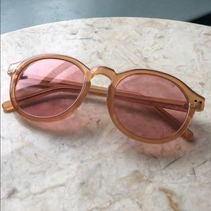 Cheap Monday Sunglasses Rose Lenses